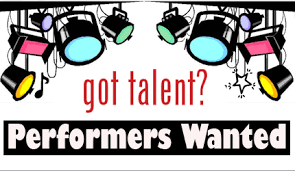 ~ Talent Show Permission Slips Going Home