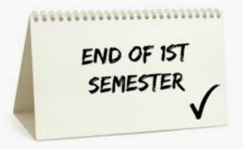 Only Three Weeks Remain in 1st Semester