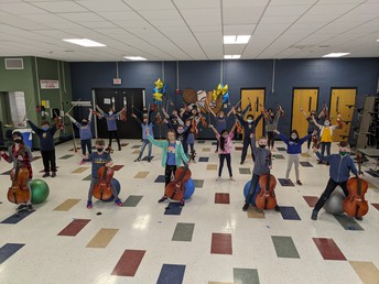 4th Grade Blue Orchestra 1
