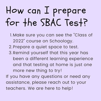 How to prepare for the SBAC Test