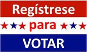 FECHA LÍMITE PARA REGISTRARSE: 10 de octubre, 2017 para las elecciones de noviembre