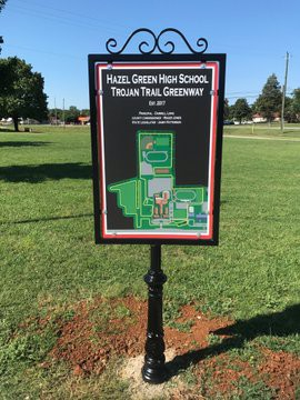 Trojan Trail Closed for Football Games