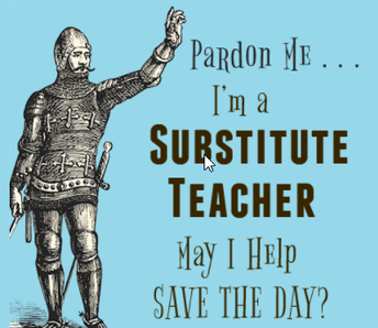 Now, you too can become a substitute teacher!