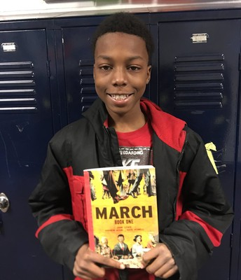 March (Book One) by John Lewis & Andrew Aydin