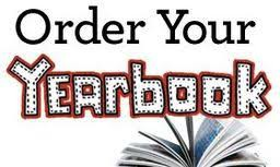 May 3rd Yearbook Order Deadline