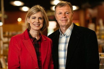 Sandra Neil Wallace and Rich Wallace
