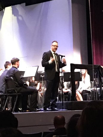 Mr. Whitehurst Conducts the All District Band