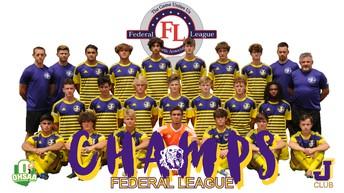 Boys Soccer Federal League Champs