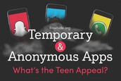 Temporary and Anonymous Apps: What's the Teen Appeal? [INFOGRAPHIC]