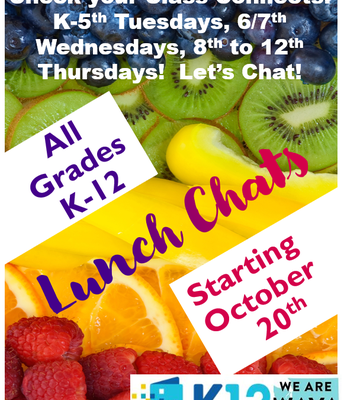 Student Lunch Chats!