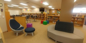 Pease Middle School Library