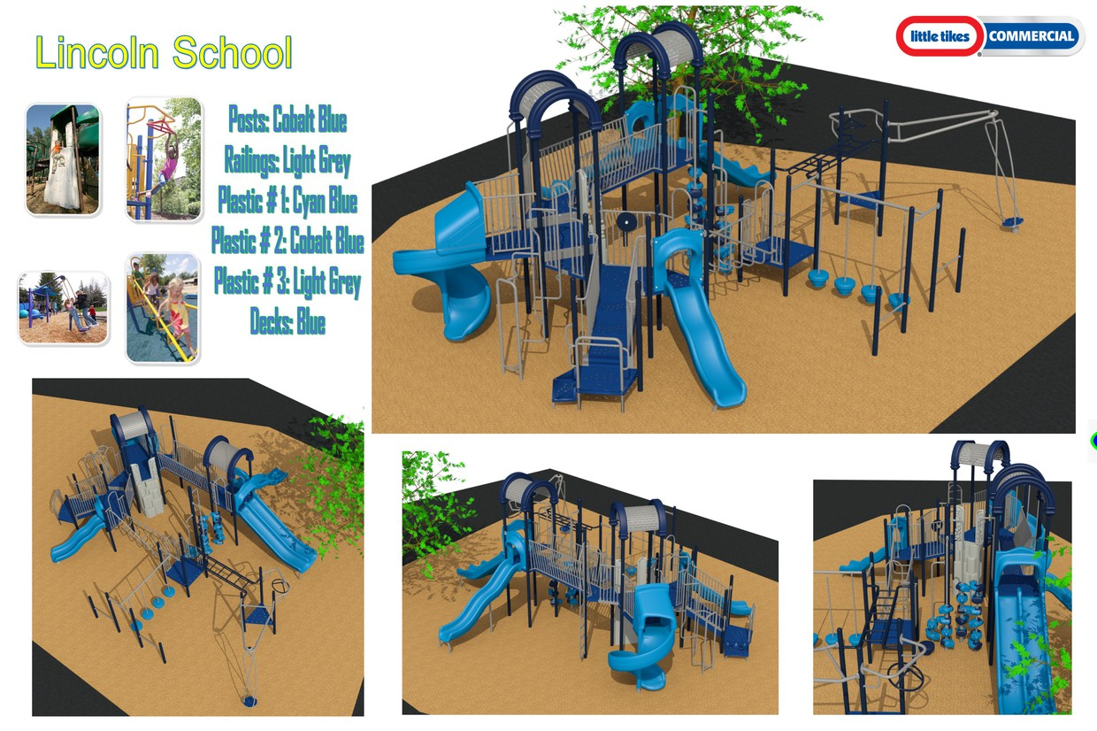 Lincoln will be getting a new playground this summer