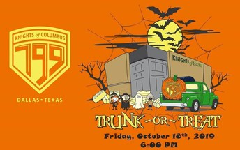 KC Trunk or Treat - Friday, October 18th