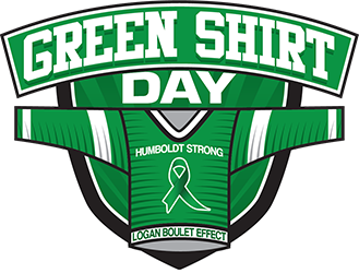 Green Shirt Day: Monday, April 8