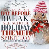 Fri. - Holiday/Winter Themed Wear