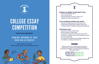 College Essay Competition