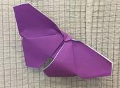 Origami Butterflies - 4th Grade