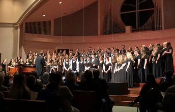 PERFORMING ARTS:  Choirs Sing in Support of Mental Health Awareness