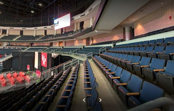 Infinite Energy Arena Seating for Family and Friends