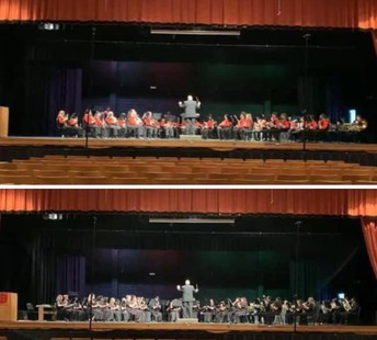 Congratulations to our Symphonic and Concert Bands