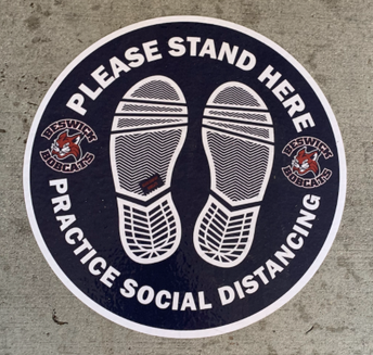Signage Around Campus- Social Distancing
