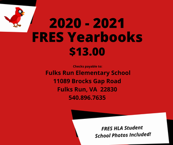 Picture of FRES Yearbook Flyer