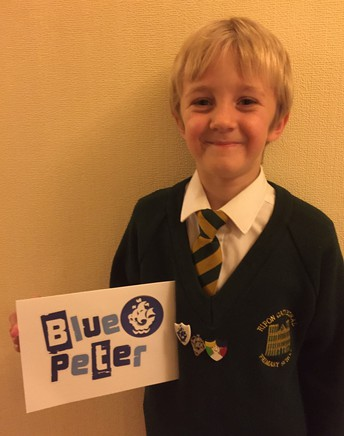 Blue Peter Badge Winner
