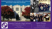 Cassata Catholic High School - Fort Worth Open House