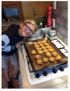 Jasper's ANZAC biscuits!