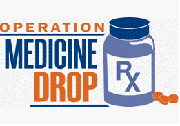 Medication drop off
