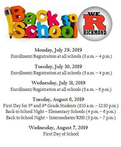 Principal S Corner Richmond Community Schools
