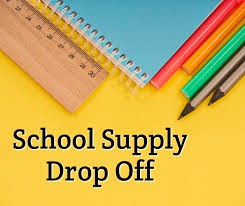 School Supply Drop Off for In Person Learning Students