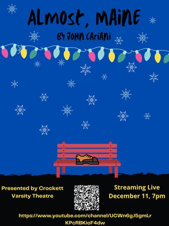 Crockett Varsity Theatre presents 'Almost, Maine' by John Cariani