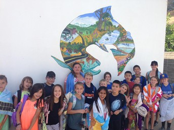 4th Grade field trip: Feather River Fish Hatchery