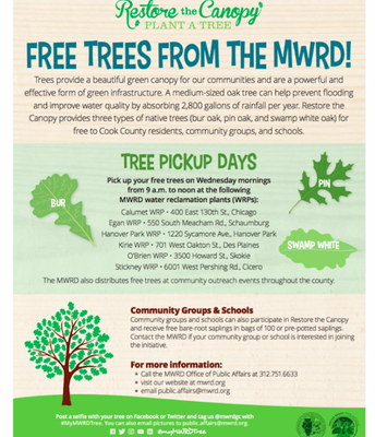 Free Trees from the MWRD!