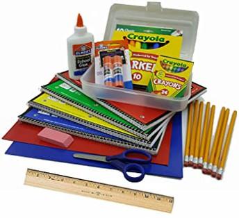 *UPDATED* School Supply List