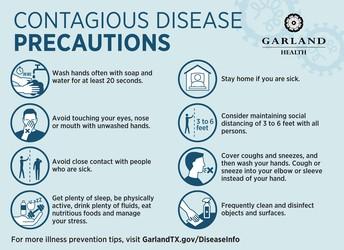 Contagious Disease Precautions