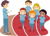 Grade 5 Cross Country Run