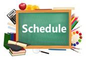 DBE School Schedule