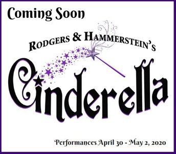 Cinderella Audition Workshop:   Thursday, December 12, 3:30-6:00 pm MS Stage