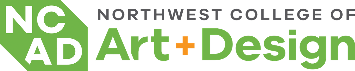Image that shows college logo and text that says Northwest College of Art and Design