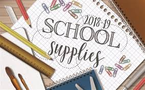 School Supplies Need a Boost!