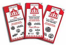 Burger King Booklet Sales Begin!