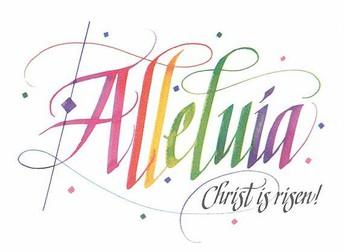 JESUS CHRIST IS RISEN, ALLELUIA!
