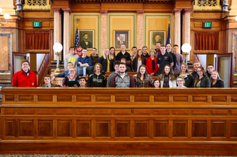 Government Classes Go to Des Moines
