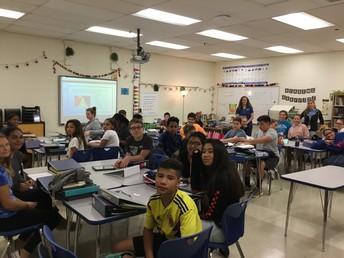 8th Grade AVID students
