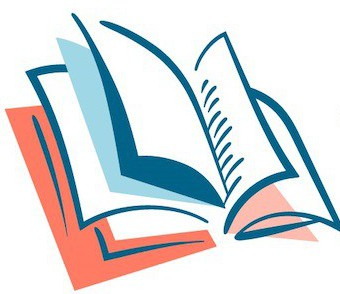 TeachingBooks icon showing open book