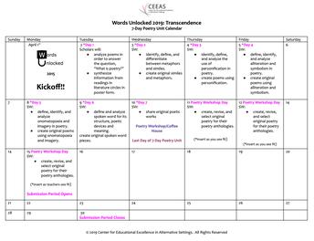 WU19 Calendar