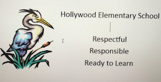 Hollywood Elementary has 3 school rules!
