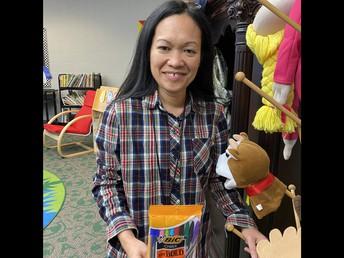 Ms. Rosemarie, Prize Winner!